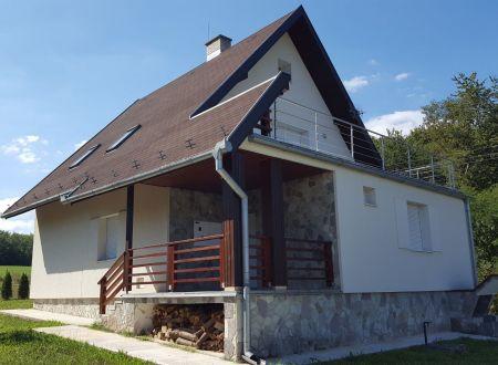Krásna chalupa - rodinný dom v obci Nemečky