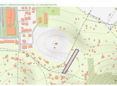 PREDAJ: 2114 m2 - exkluzívny pozemok v Devínskej Novej Vsi