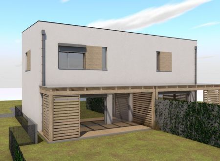 Nový 3 izbový rodinný dom P4-B1-H / Sokolovce