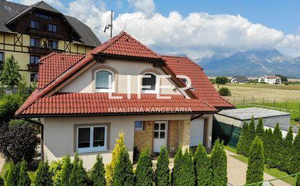 REZERVOVANÝ - Ponúkame na predaj NÁDHERNÝ rodinný dom pri Žiline.