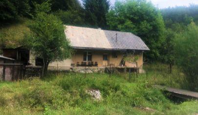 Rodinný dom Valaská Belá, pozemok 1116m2