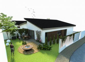 **TOP PONUKA: Nový 3 izbový rodinný bungalov - vhodný variant medzi domom a bytom!!