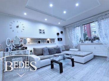 BEDES | Jedinečný 3i byt,63m2, s garážou