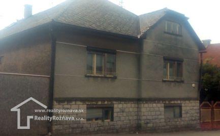 Rodinný dom Plešivec