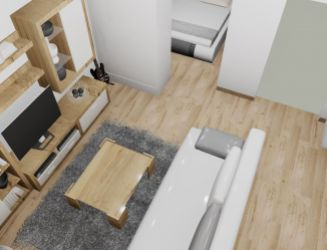 Na predaj 1 izbový byt P1E, v novom projekte