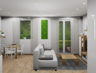 Na predaj 1 izbový byt P_F, v novom projekte