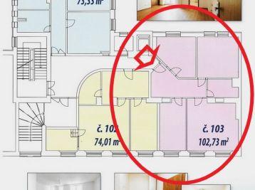 BA Gunduličova – II. ETAPA – veľmi pekný nový 4-izbový byt v centre Bratislavy.