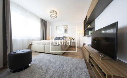 Gofar - Na prenájom 1 izbový byt s lodžiou v novostavbe Fuxova s nádherným výhladom na panorámu Bratislavy