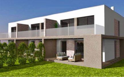 Novostavba nadštandardného 4 izbového mezonetu so záhradou v novovybudovanej časti obce Rovinka v blízkosti hrádze.
