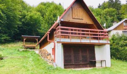 REZERVOVANÉ ZA 7 DNÍ - Krásna 3 podlažná chata v Malom Lipníku