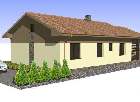 Novostavba rodinný dom Ludanice
