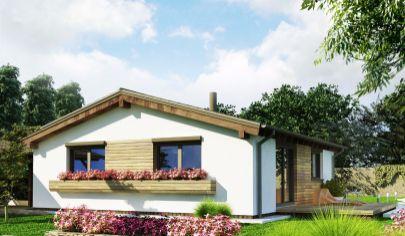 DREVODOM - NÍZKOENERGETICKÝ, 3 izbový dom, úžitková plocha 74 m2, TOPOĽČANY