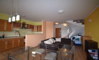 Prenájom- nadštandardný, kompletne zariadený 3.izb. mezonetový byt (80m2) s 2 loggiami (2 x 4m2) v novostavbe Alba, Ružová dolina, Bratislava II – Nivy