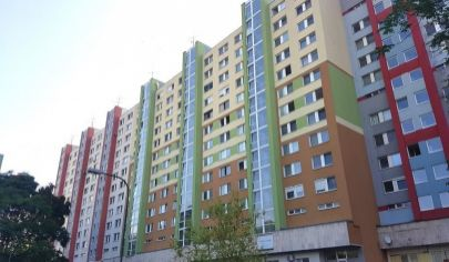 EXKLUZÍVNE NA PREDAJ: 3i byt, 6./12p., 2x loggia, Petržalka - Rovniankova ul.