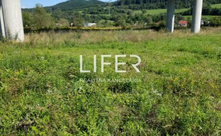 Pozemok v Dolnom Hričove pri Žiline 1039 m2