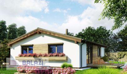 DREVODOM - NÍZKOENERGETICKÝ, 3 izbový dom, úžitková plocha 74 m2, Turčianske Teplice