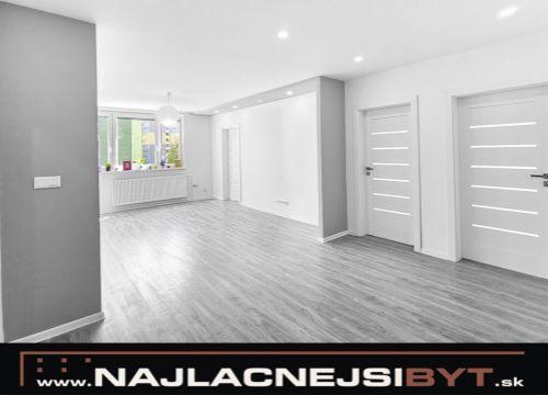 Najlacnejsibyt.sk: BAV - Petržalka, Gessayova ul., 4-izbový, 91,86 m2, kompletná rekonštrukcia august 2019