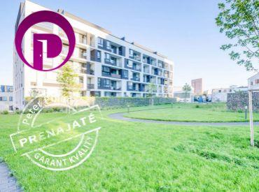PRENAJATÉ - 2i byt, 65m2 – BA-Nové Mesto: novostavba AHOJ PARK, zariadený, EŠTE NEOBÝVANÝ, PARKOVANIE, VEĽKÁ lodžia 11m2