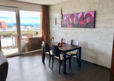 Prenájom zariadený 3 izbový byt s garážou, Koliba - Tupého, 104 m2
