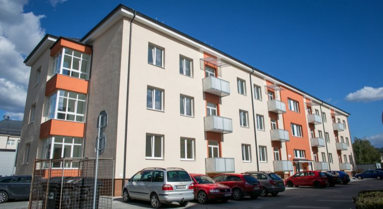 Nový 2- izbový byt č.8 v novostavbe na Krížnej ulici