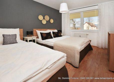 DELTA - Priestranný, moderný apartmán s balkónom na predaj Veľký Slavkov
