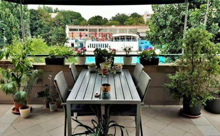 PRENÁJOM 2 izbový priestranný DOG FRIENDLY byt s terasou Bratislava Ružinov Miletičová EXPIS REAL