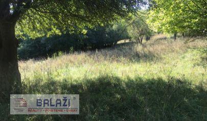Valaská Belá pozemok orná pôda 455m2, okres Prievidza