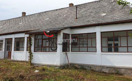 GEMINIBROKER Vám ponúka na predaj dom vo Füzérradvány - v rekonštrukcii.
