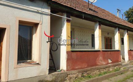 GEMINIBROKER Vám ponúka na predaj dom v obci Göncruszka