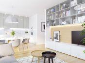 MERIDIEM / 4i byt / nový polyfunkčný bytový dom v Topoľčanoch