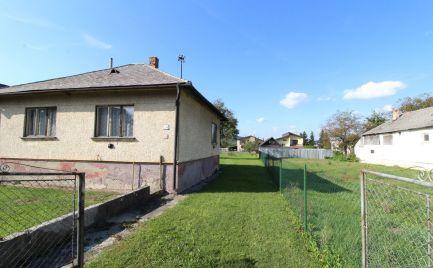 DOM-REALIT ponúka na predaj rodinný dom v obci Kamenica nad Cirochou