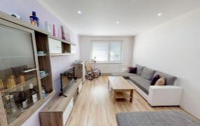 Na predaj 2 izbový byt prerobený na 3 izbový- kompletná rekonštrukcia, 61 m2, Dubnica nad Váhom - Pod Hájom.