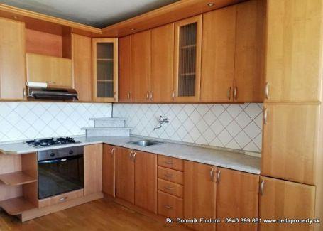 DELTA - Slnečný 3-izbový byt s loggiou na predaj Levoča - Západ