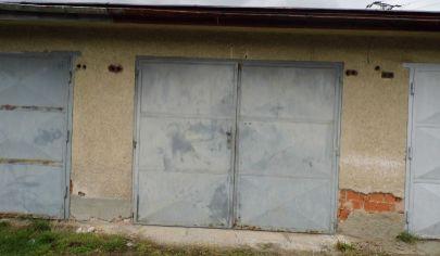 MARTIN tehlová garáž 37m2, Podháj
