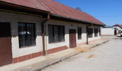 SUČANY Výrobná hala s rodinným domom a pozemkom 4477m2, okr.Martin