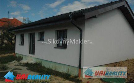 PRUSY – 2 novostavby rodinných domov / nová štvrť / pozemky 550 m2 / okres Bánovce nad Bebravou