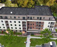 1-izbový byt 49,6 m2  č. 408 s balkónom, bytové apartmány SĹŇAVA - BANKA - PIEŠŤANY