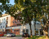 1-izbový byt č. 101 s terasou, bytové apartmány SĹŇAVA - BANKA - PIEŠŤANY