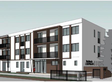 Nový 1 izbový byt č. 101, Rezidencia LESOPROJEKT, Piešťany
