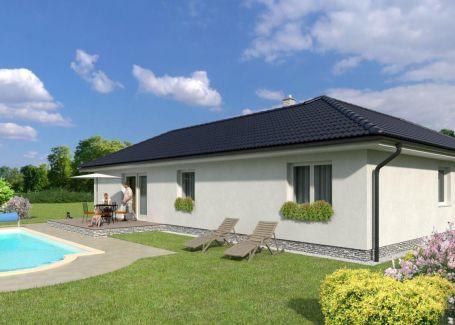 Moderný L-kový  4 izbový rodiiný dom v novej lokalite, Vinna Alej I. v Miloslavove