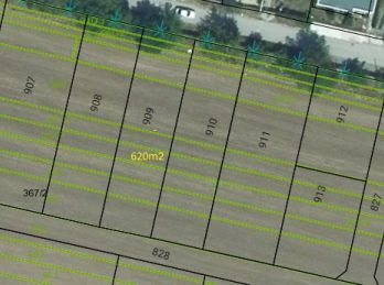 Exkluzívne!!! Predaj stav. pozemok Hrušovany 620 m2, 004-14-FIK