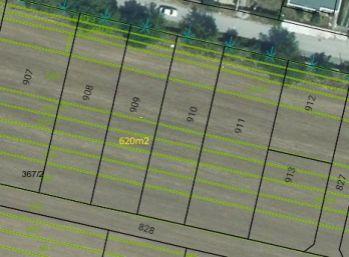 Predaj pozemok 620 m2, Hrušovany, 004-14-FIK