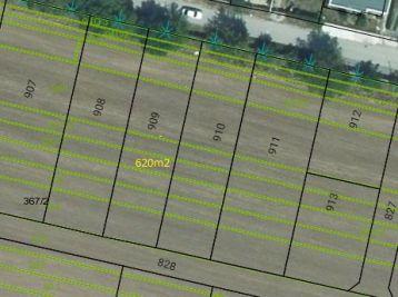 Predaj stav. pozemok Hrušovany 620 m2, 004-14-FIK