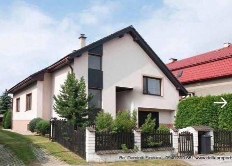 DELTA - Nádherný rodinný dom so saunou, tenisovým kurtom, vinotékou a posilňovňou na predaj Šuňava