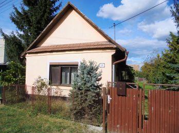 VEĽKÉ DRAVCE - Dom 145 m2  vhodný na chalupu na peknom SLNEČNOM POZEMKU 790m2