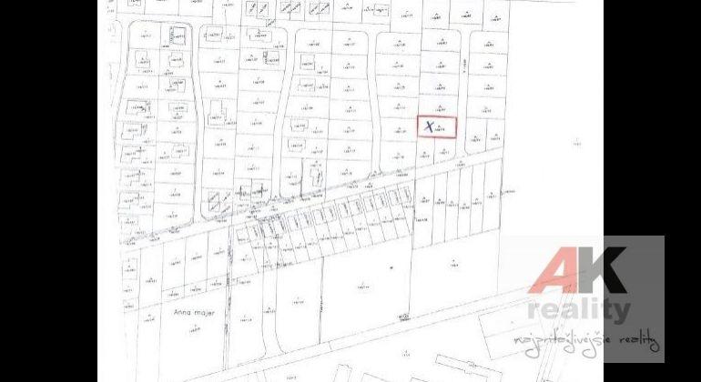 Predaj pozemok pre rodinné domy Miloslavov