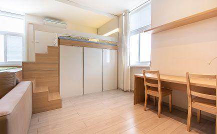 DOM-REALÍT ponúka Zariadný 1 izbový  tehlový byt v žiadanej lokalite Palárikova ulica