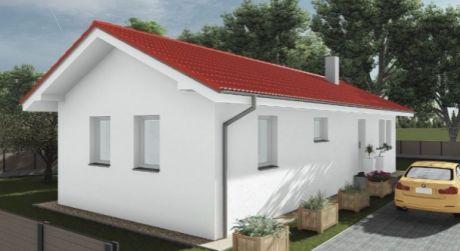 Kuchárek-real:  Ponúkame na predaj 4 izbový nízkoenergeticky rodinný dom v Studienke