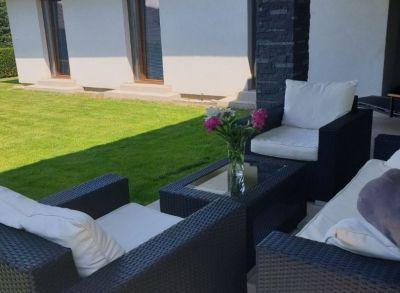 Rezervovaný - Ponúkame Vám na predaj 8 ročnú NOVOSTAVBU Rodinného domu V obci Ivanka pri Dunaji - nová časť Farná