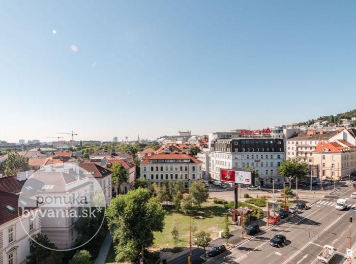 PRENAJATÉ - ŠANCOVÁ, 3-i byt, 110 m2 - GARÁŽOVÉ STÁTIE, výhľad na SLAVÍN A HRAD, centrum, PROVÍZIU NEPLATÍTE